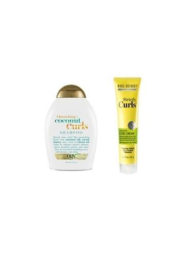 Organix Organix Quenching+Coconut Curls Bukleli Saç Şampuanı 385 Ml+Marc Anthony Bukle Belirginleştirici Durulanmayan Bakım Kremi 177 Ml Renksiz